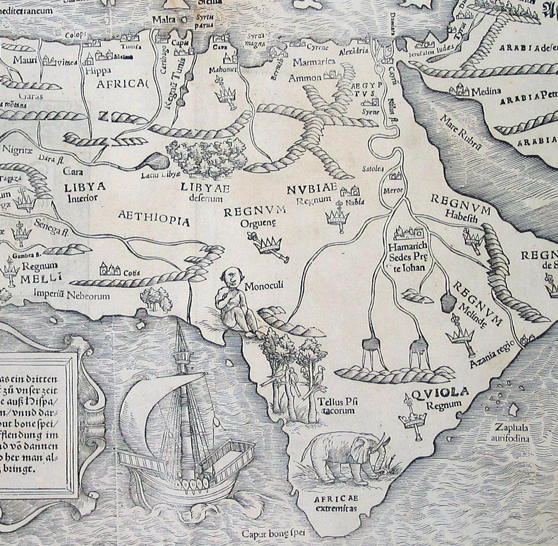 Münster Africa 1540